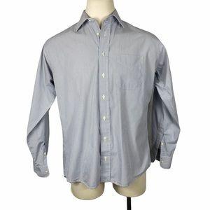 Gitman Brothers Blue Striped Dress Shirt
